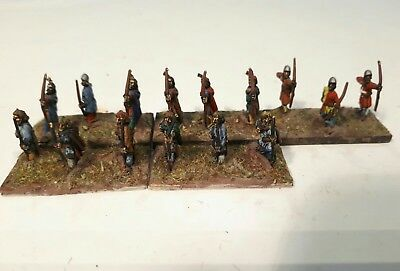 15mm Medieval Infantry Archers - DbA, DBMM, FoG, AdlG painted