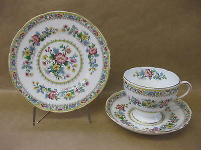 Pretty Vintage Foley English China Cup, Saucer & Plate Ming Rose ~ Trio ~ 2500