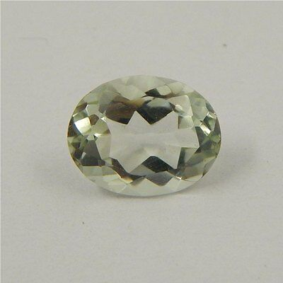 3.3 cts Natural Green Amethyst Gemstone Must See Loose Cut Faceted R#192-15