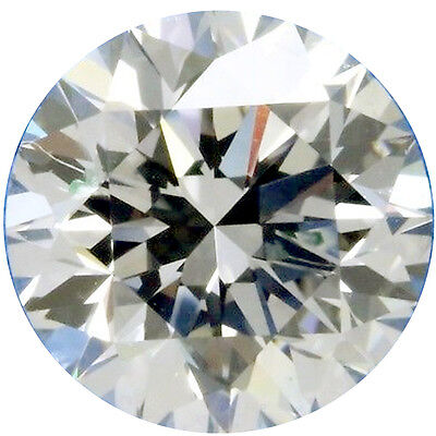 1.88ct VVS1/7.96 mm GENUINE H-I WHITE COLOR ROUND LOOSE REAL MOISSANITE