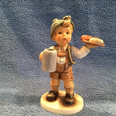 "Hummel ""country Figurine"" #2344 Tmk-9 Bavaria Child Mint In Original Box"
