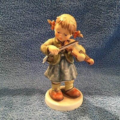"Hummel ""perfect Pitch"" #2150A Tmk-8 Child Playing Violin Mint In Original Box"