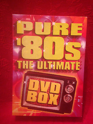 Pure 80's The Ultimate DVD Box (3 Disks) Gently Used