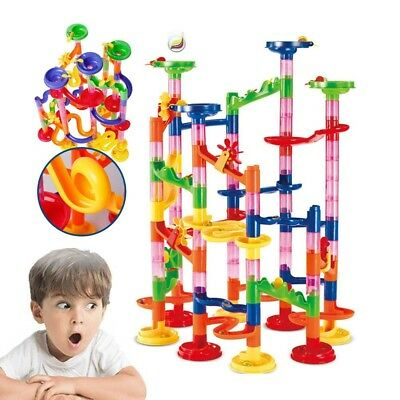 Coaster Railway Toy Marble Adventure New Challenge Game 105 pcs christmas Gift