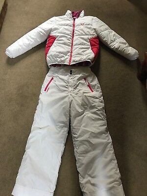 girls ski suit, lovely two piece ski suit, used once, excellent condition Age 12