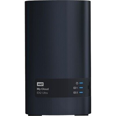 Western Digital My Cloud EX2 Ultra 4TB Speicher Anthrazit 4TB Festplatte USB