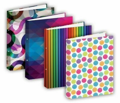 Tiger A4 Fashion Lever Arch File (Assorted) Pack of 12