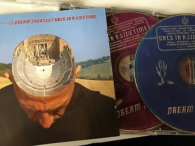 DREAM THEATER - Once In A LiveTime 2 x CD 1998 Atlantic / Warner Germany AS NEW!