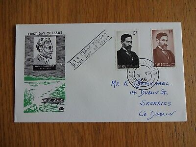 Ireland Eire - 1966 Roger Casement (patriot) First Day Cover FDC