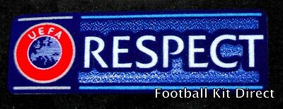 Official Champions League Respect Football Shirt Patch/Badge 2013/18