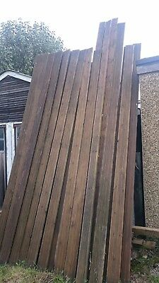 Used decking boards 20+ - mostly 3.6m or longer