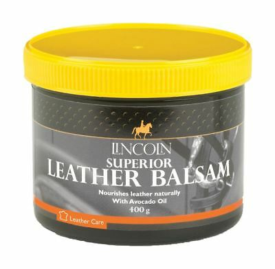 Lincoln Superior Leather Balsam - Leather Care Tack Cleaning  400g 4490