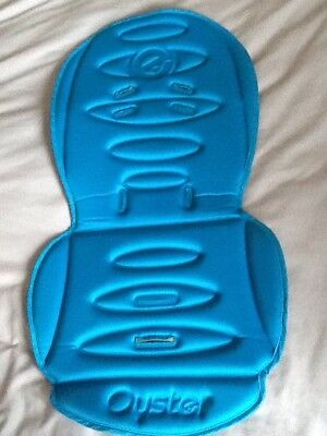 Blue Oyster Ocean Colour Buggy Seat Liner