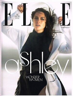ELLE UK November 2017 Ltd Ed ASHLEY GRAHAM Alek Wek CHARLOTTE GAINSBOURG @NEW@