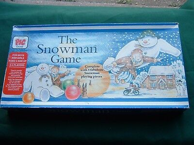 The Snowman Game 1987  By Pic Game Contents 100% Complete