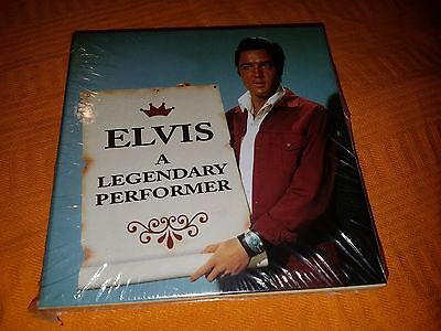 Elvis Presley - a legendary performer - rare mint new 8 cd box set