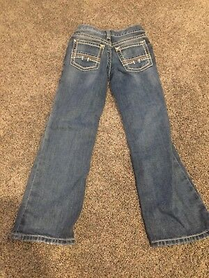 Boys Ariat B4 Relaxed Jeans Size 8