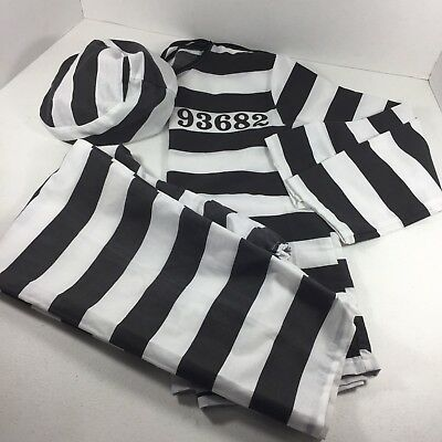 Prisioner Childs 3 Pc Costume Halloween