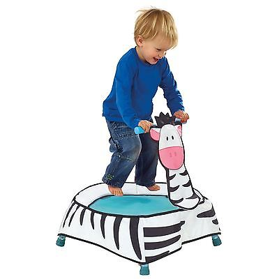 Getgo A-Zebra Toddler Trampoline Indoor Fun Active Sound Effects