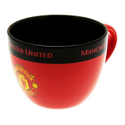 Manchester United Cappuccino Mug Cup Coffee Official Licensed Football Product