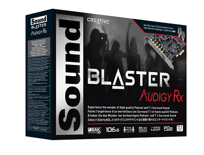 Creative Sound Blaster Audigy Rx 7.1-Surroundklang