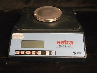 Setra Quick Count High Resolution Counting Scale Capacity 5kg / 11lb