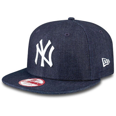 New Era Herren Cap DENIM BASIC 9FIFTY NY - NAVY/WHITE
