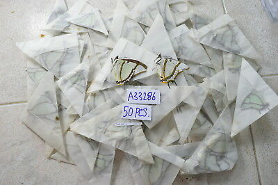 """A33286 # Lot of 50 unmounted Butterflies """" Not good condition"""" Vietnam NORTH"""