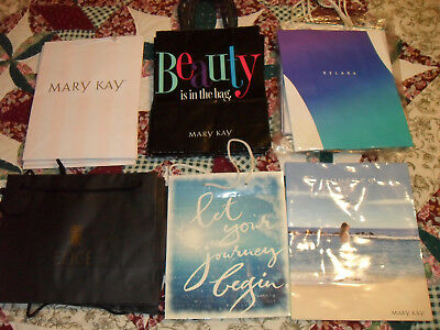 Vintage Lot of 22 MARY KAY Consultant  Assorted Gift/Purchase Bags