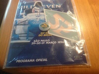 Formula 1 programme 1996 never opened, still wrapped.