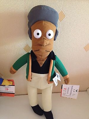Brand New The Simpsons Apu Soft Toy Plush 12""