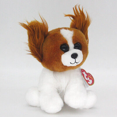 "6"" Ty Beanie Boos Barks Stuffed Plush Toy Soft Animals Toy Boys&Girl Plush Dolls"