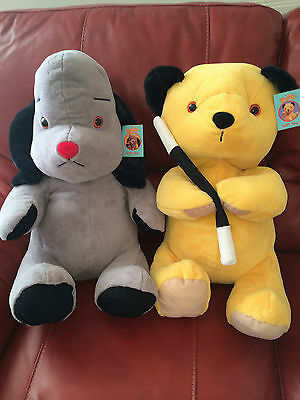 "L@@k Massive Bnwt Huge X-Large 18"" High Sooty & Sweep Soft Plush Cuddly Toys"