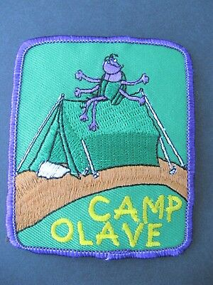 Girl Guides Canada Camp Olave Embroidered Patch Scouts Brownies