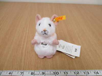 Steiff Original Pilla White Mouse with Tags