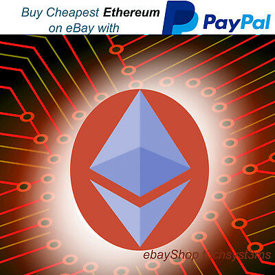 Buy 0.015 Ethereum Package with Paypal - ETH cryptocurrency investment Altcoin