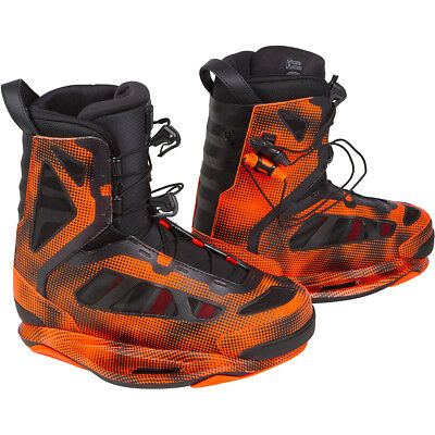 Ronix Parks Wakeboard Boots Electric Orange - 2017