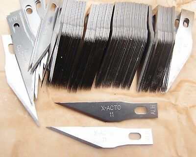 Genuine USA Made X Acto No #11 Hobby Craft Knife Blades UK Seller