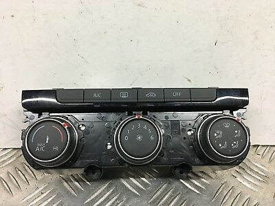 Vw Golf Mk7 2013-16 Interior Heater Climate Control Switch Panel 5G0907426M