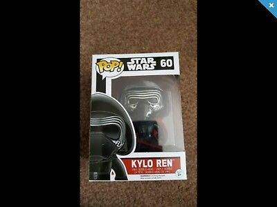 Funko POP Vinyl no.60 Star Wars  Kylo Ren BNIB
