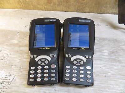 Lot of 2x Psion Workabout Pro 3 P/N: 7527S-G2 Handheld Barcode Computers - dmg^