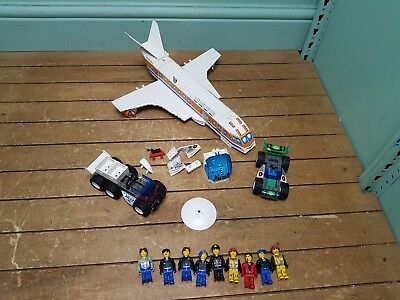 LEGO Jack Stone Patrol Parts and People, Plane Cars
