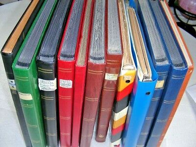 US/WW, BRITISH & FRENCH COLONIES, 1000's of Stamps in 12 Stock books/binders