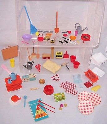 1960's 'MY MERRY' PLAY SET PIECES LOT- SOME HARD TO FIND PIECES! (PLUS EXTRAS!)