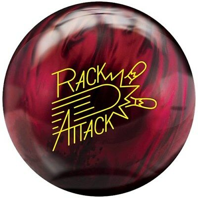 New 16lb Radical Rack Attack Pearl Cherry Bowling Ball xyz 1011