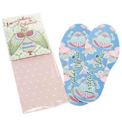 New Irregular Choice *insole Pack* Blue/pink Floral