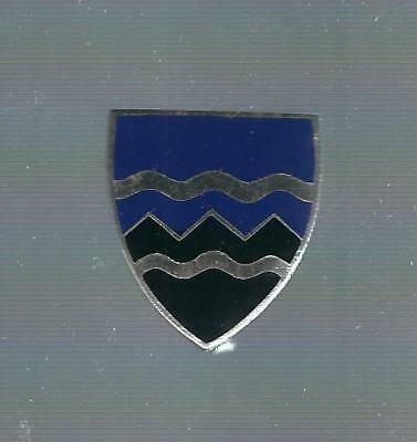 397Th  Infantry Asmic # 397 A  Dondero  Hall Mark   Pin Back Crest/ Di