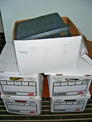5 Bankers Boxes of US/WW, 1000's of Stamps & others in albums/binders, others