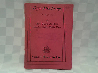 Old Play Book - Beyond The Fringe