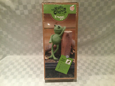 The Knitty Critters Collection Froggy Green Frog Knitting Kit